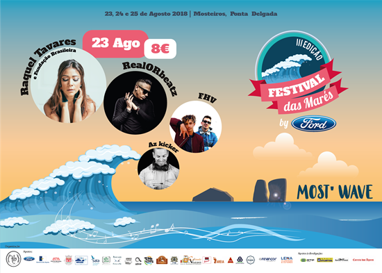 Picture de 23 Agosto 2018 - Bilhete Diário - Festival das Marés