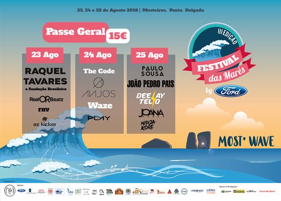 Picture of 23,24,25  Agosto 2018 - Kit 3 dias - Festival das Marés