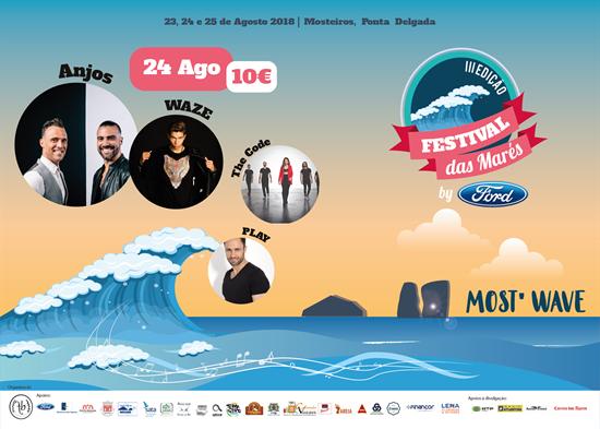 Picture of 24 Agosto 2018 - Bilhete Diário - Festival das Marés