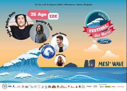 Picture of 25 Agosto 2018 - Bilhete Diário - Festival das Marés